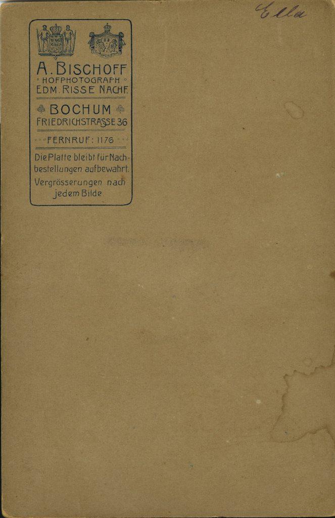 A. Bischoff - Edm. Risse - Bochum