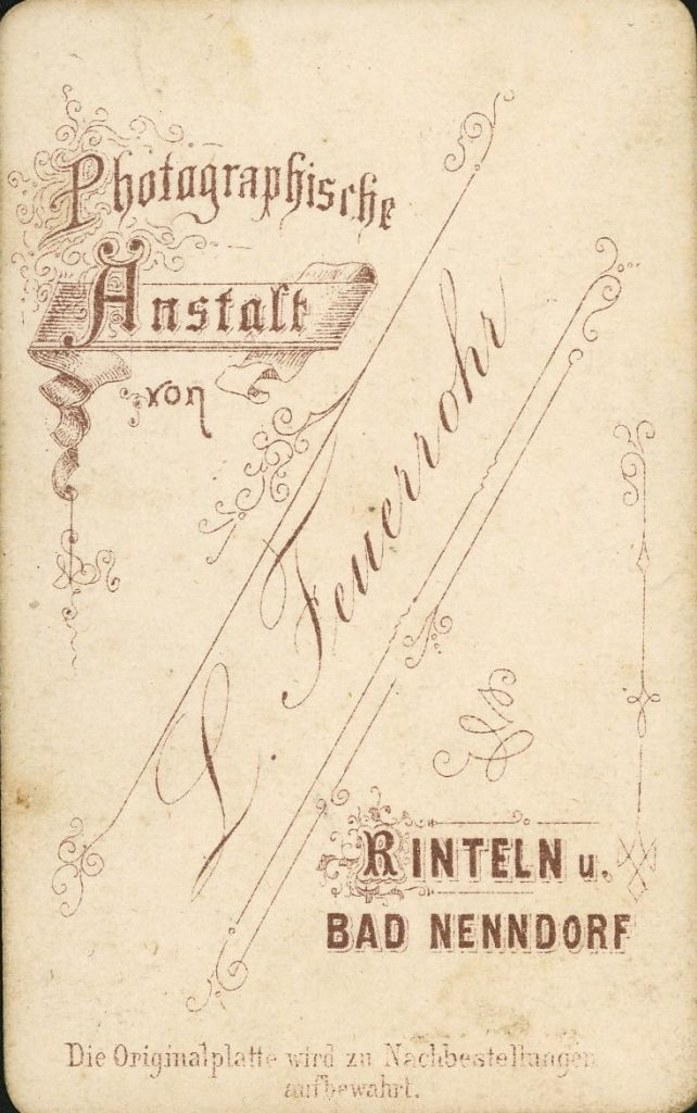 L. Feuerrohr - Rinteln - Bad Nenndorf