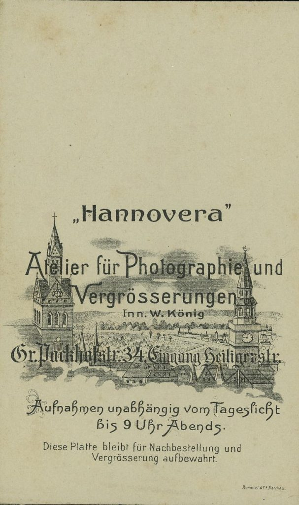 Hannovera - W. König - Hannover