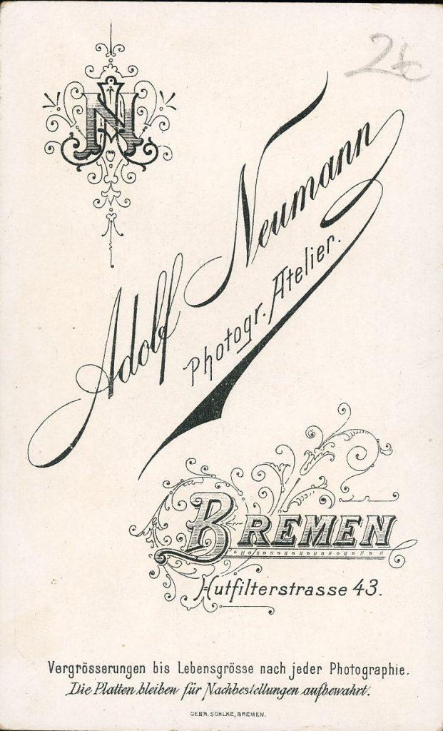 Adolf Neumann - Bremen