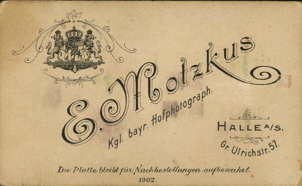 E. Motzkus - Halle a.S.