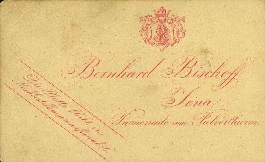 Bernhard Bischoff - Jena