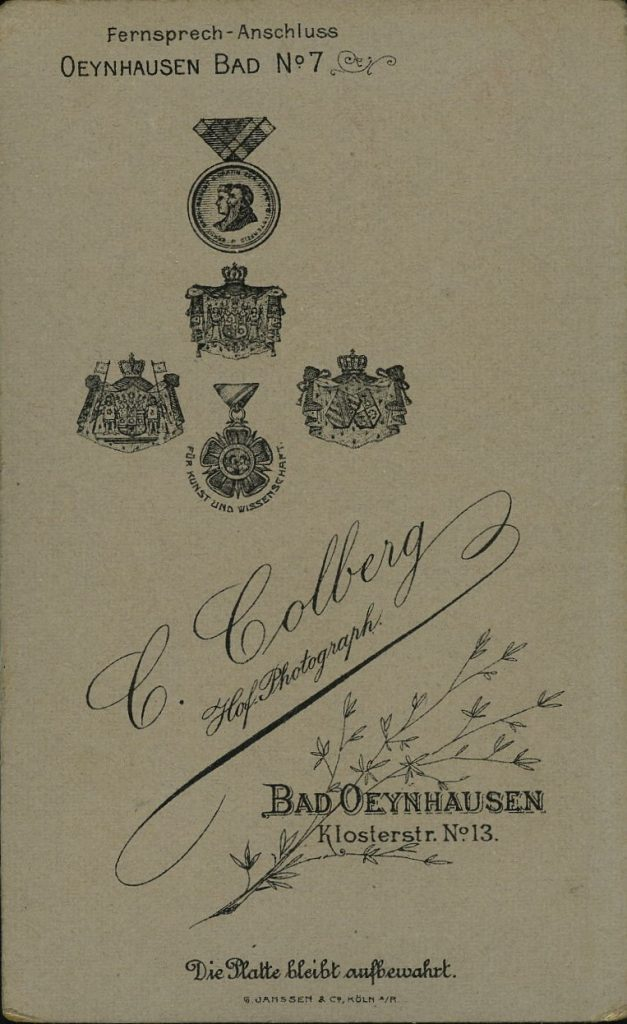 C. Colberg - Bad Oeynhausen