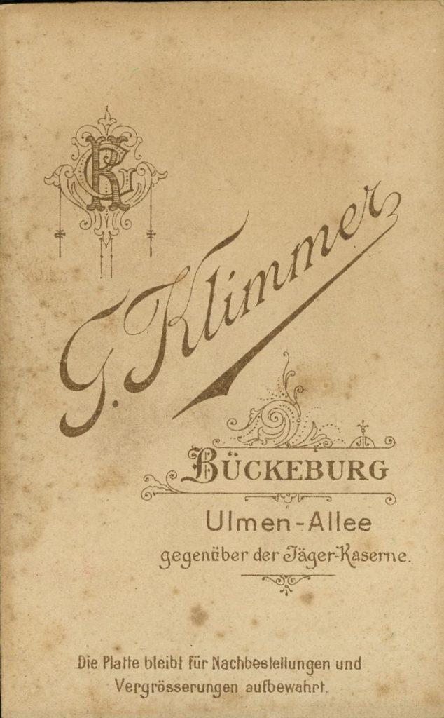 G. Klimmer - Bückeburg