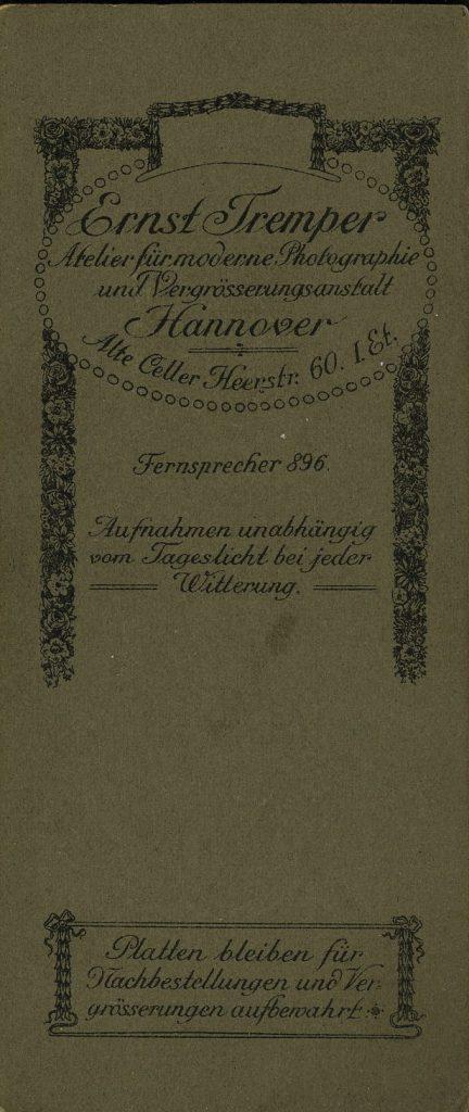 Ernst Tremper - Hannover