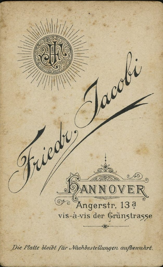 Friedr. Jacobi - Hannover