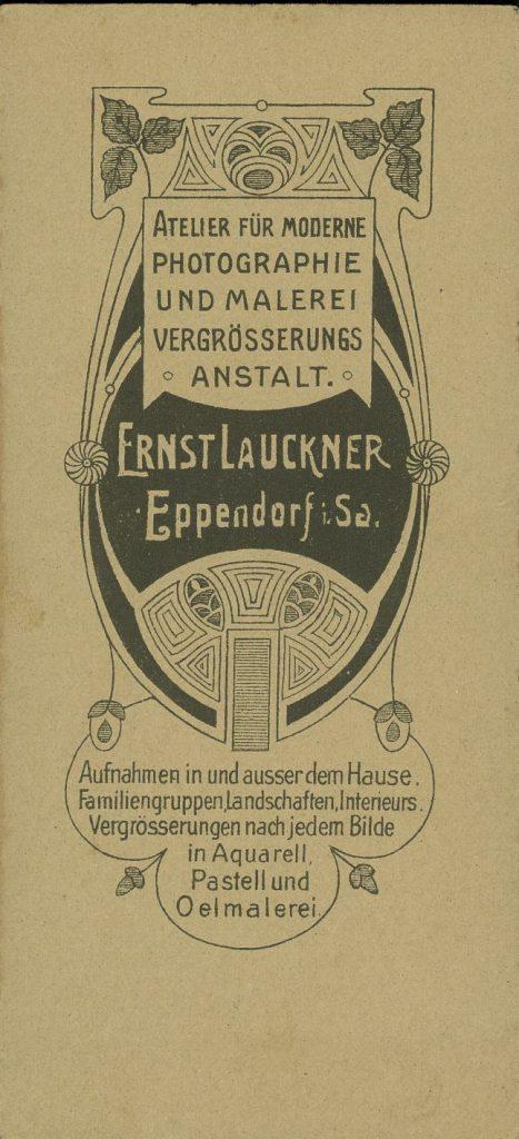 Ernst Lauckner - Eppendorf i. Sa