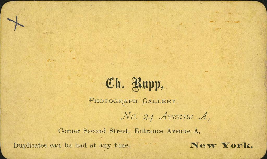 Ch. Rupp - New York
