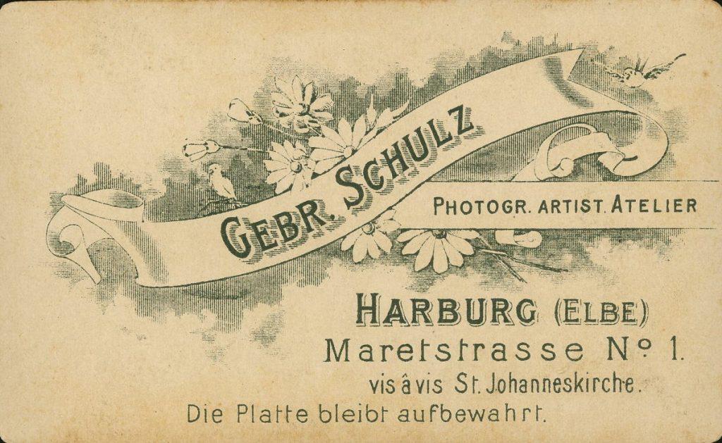 Gebr. Schulz - Harburg a.E.