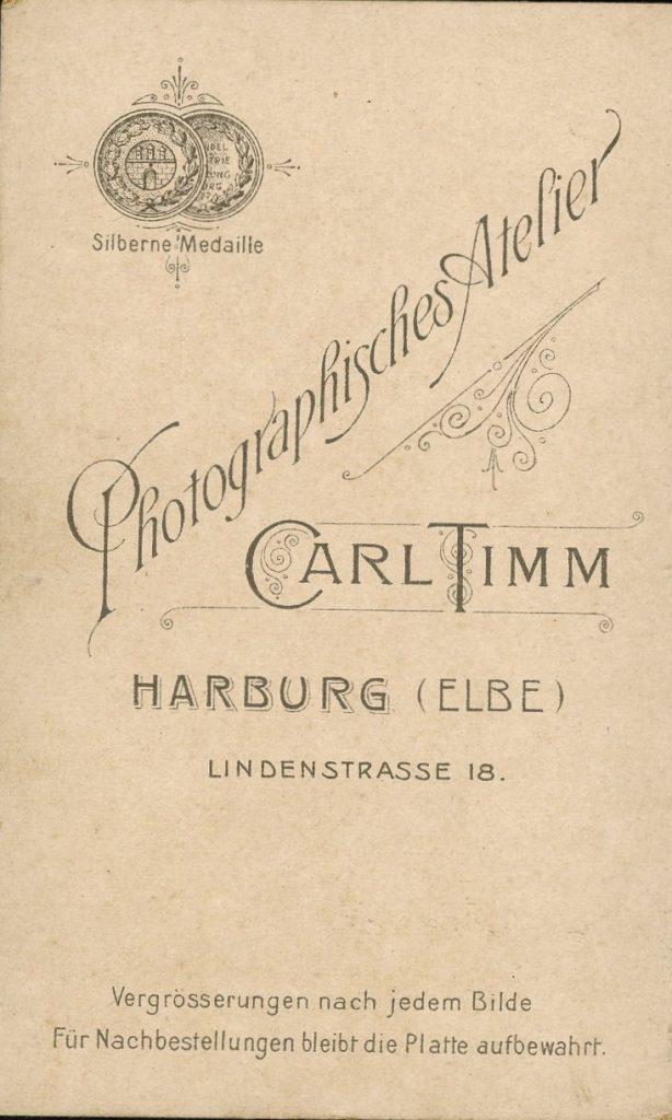Carl Timm - Harburg a.E.