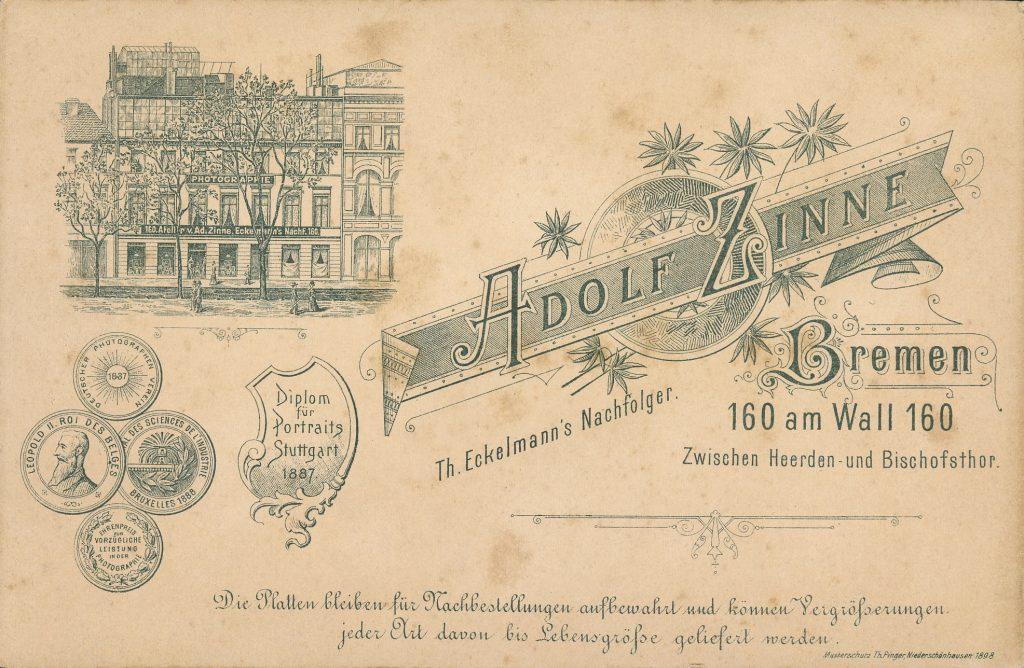 Adolf Zinne - T. Eckelmann - Bremen