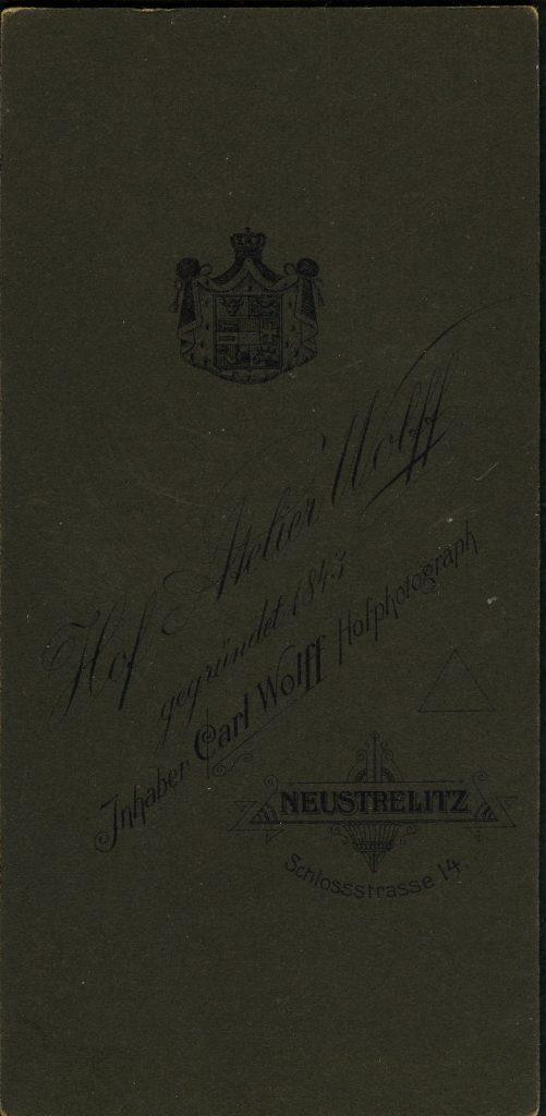 Carl Wolff - Neustrelitz