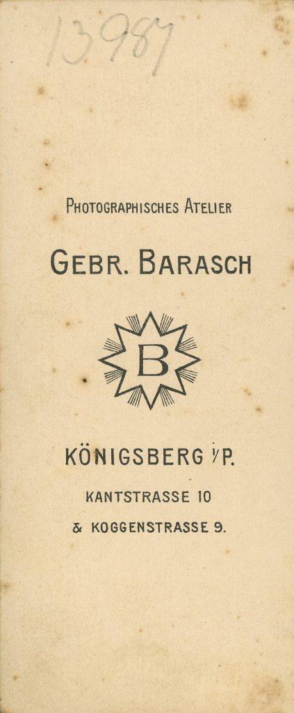 Gebr. Barasch - Königsburg i.P.
