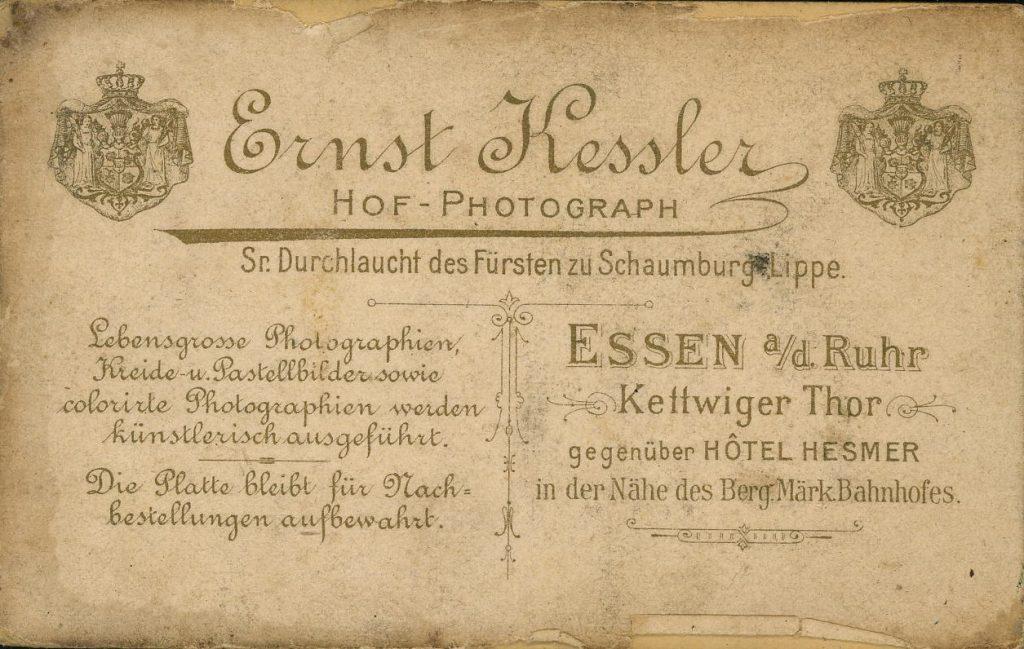 Ernst Kessler - Essen a.d.Ruhr
