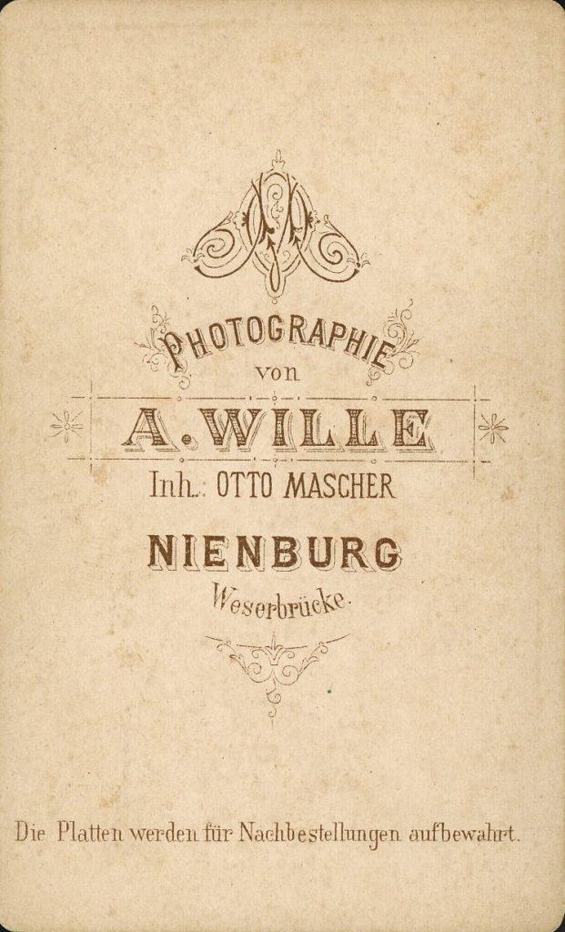 A. Wille - Otto Mascher - Nienburg