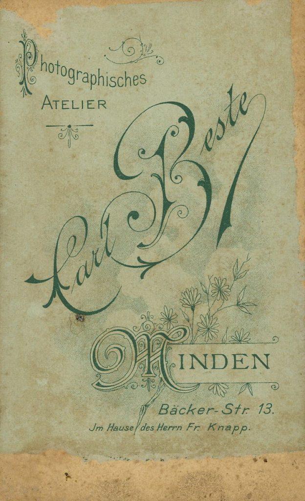 Carl Beste - Minden