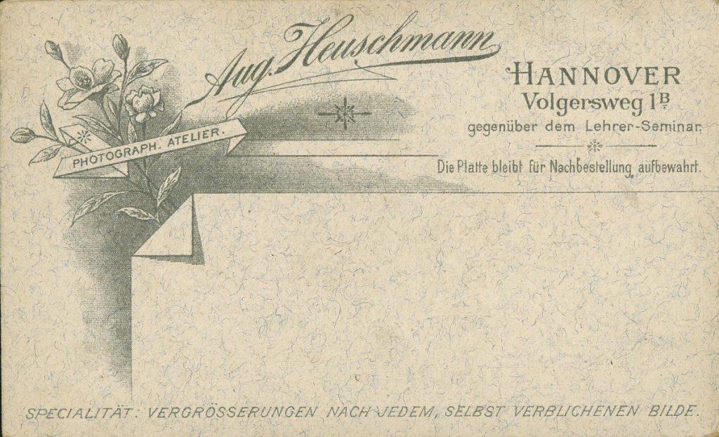 Aug. Heuschmann - Hannover
