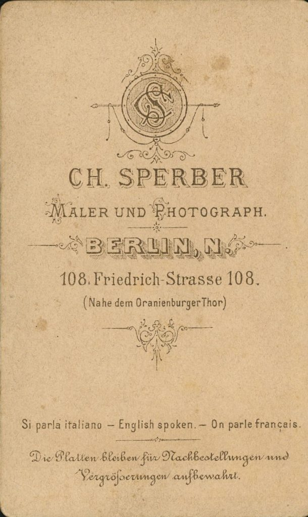 Ch. Sperber - Berlin