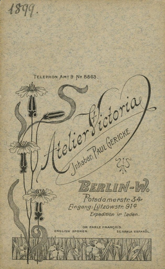 Victoria - Paul Gericke - Berlin