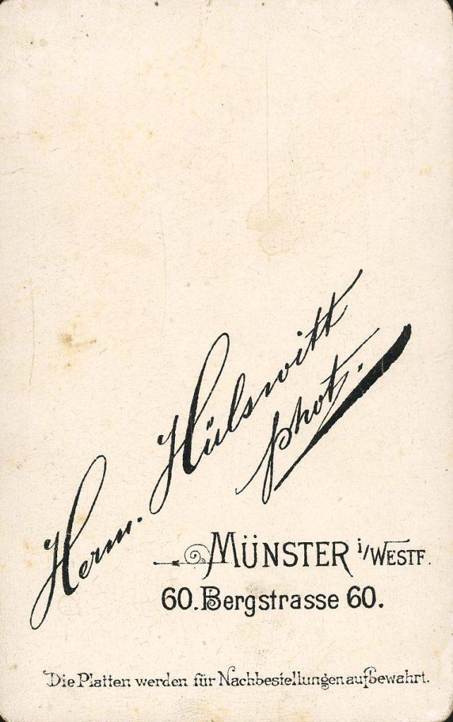 Herm. Hülswitt - Münster i.Westf