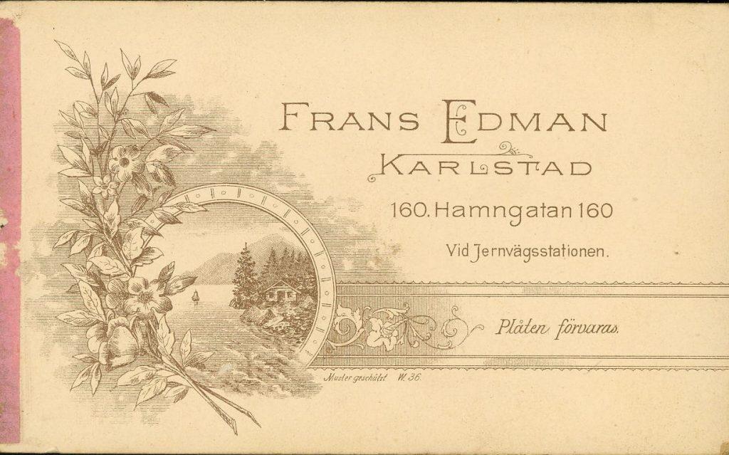 Frans Edman - Karlstad
