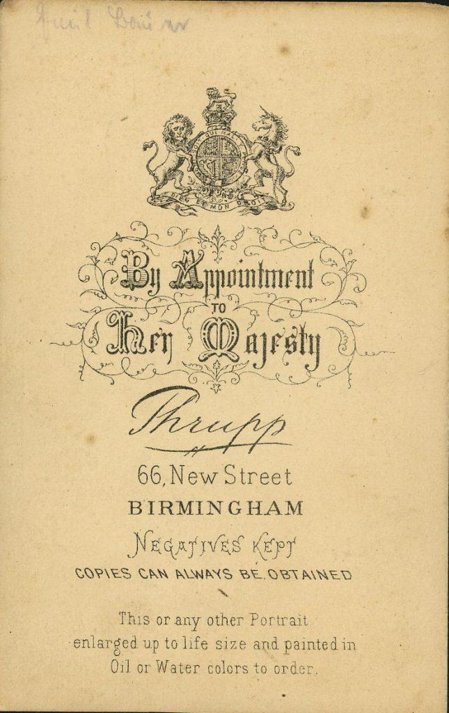 Thrupp - Birmingham