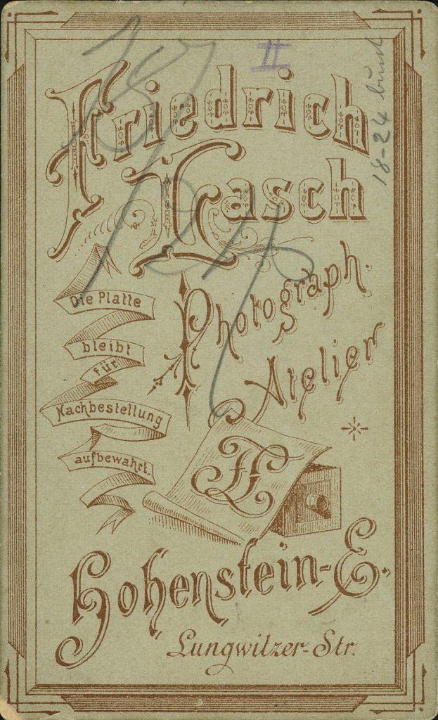 Friedrich Lasch - Hohenstein-Ernsthal