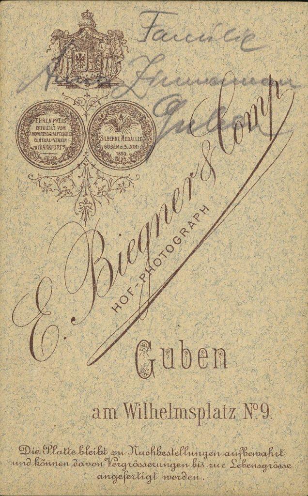 E. Biegner - Guben