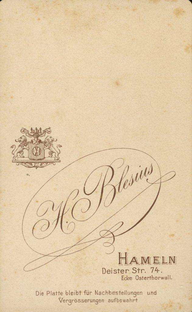 H. Blesius - Hameln
