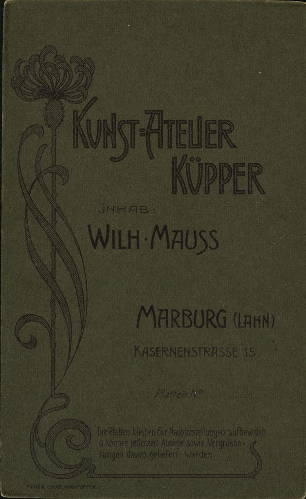 Küpper - Wilh. Mauss - Marburg (Lahn)