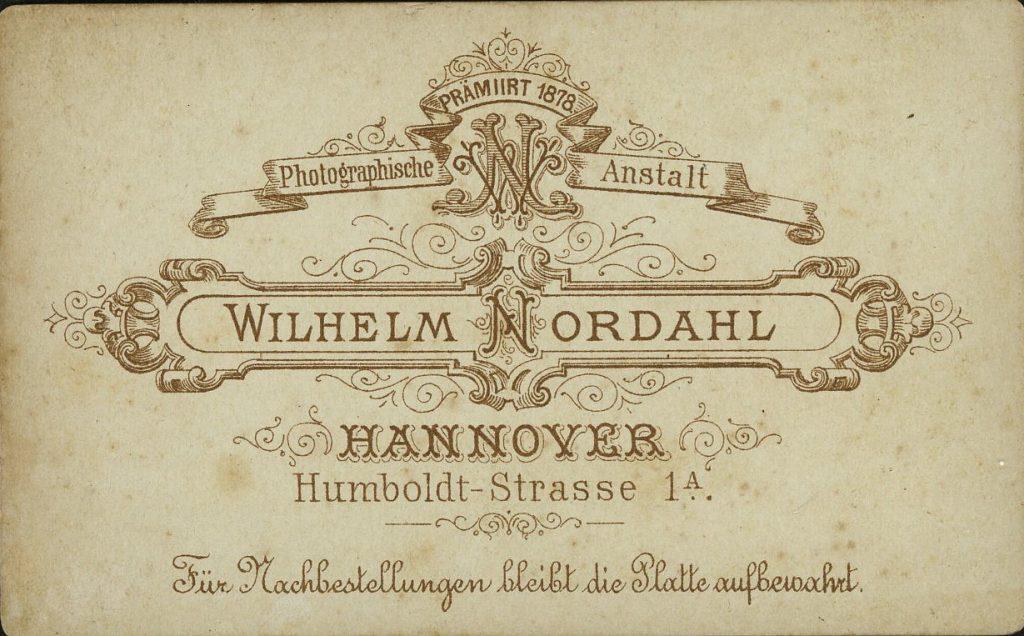 Wilhelm Nordahl - Hannover