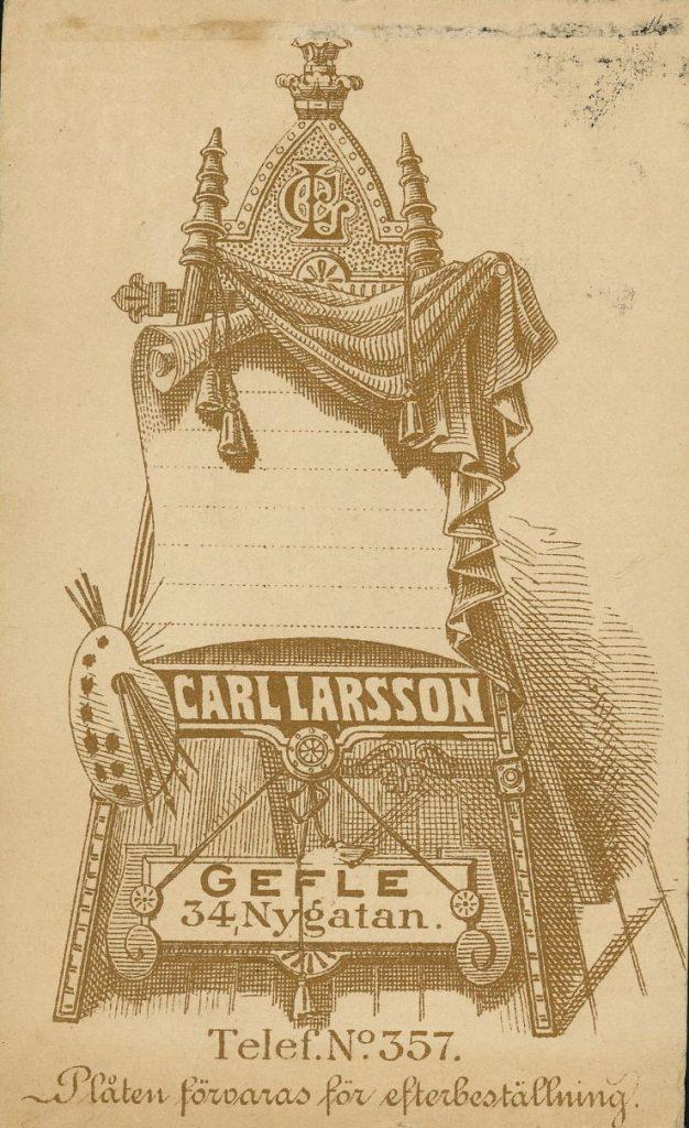 Carl Larsson - Gefle