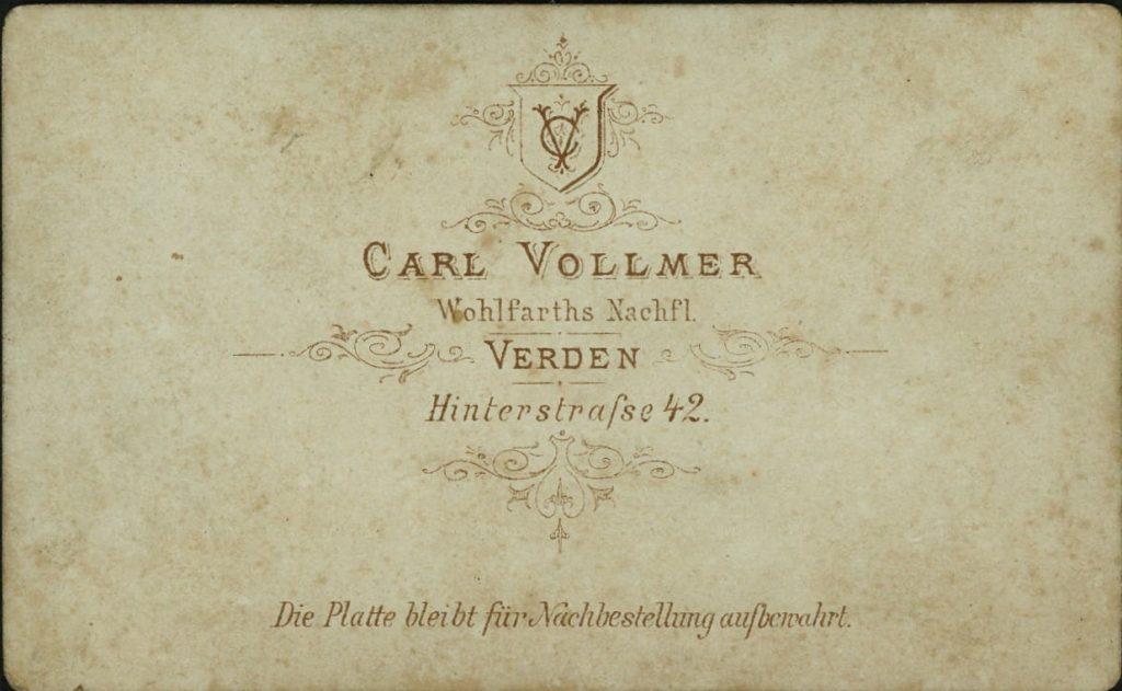 Carl Vollmer - Verden