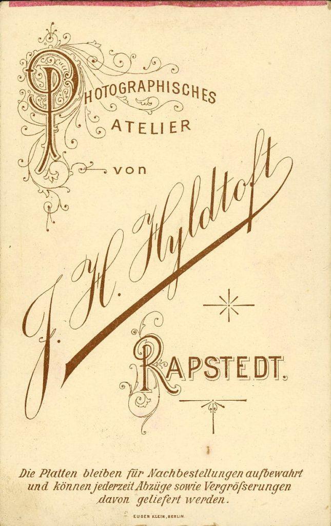 J. H. Hyldtoft - Rapstedt