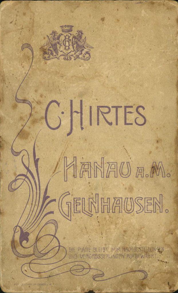 C. Hirtes - Hanau - Gelnhausen
