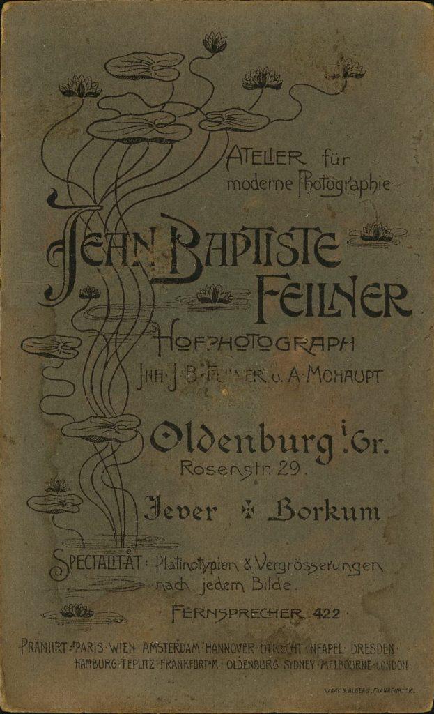 Jean Baptiste Feilner - Oldenburg - Jever - Borkum