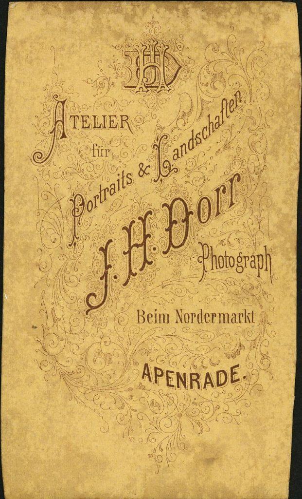 J. H. Dorr - Apenrade