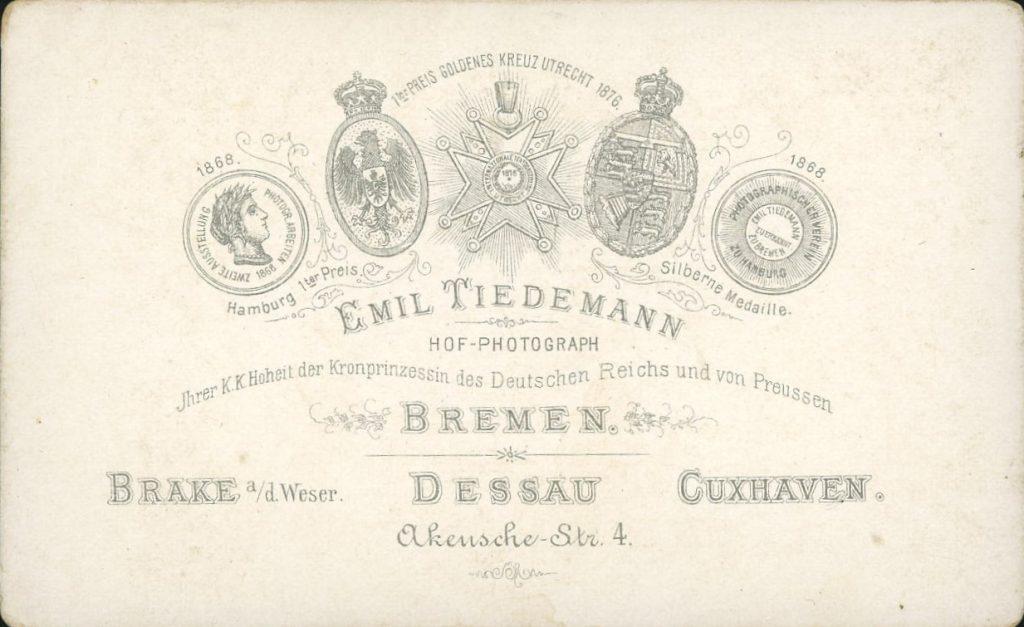 Emil Tiedemann - Bremen - Brake - Dessau - Cuxhaven
