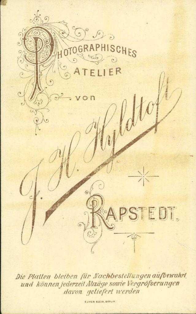 F. H. Hyldtoft - Rapstedt