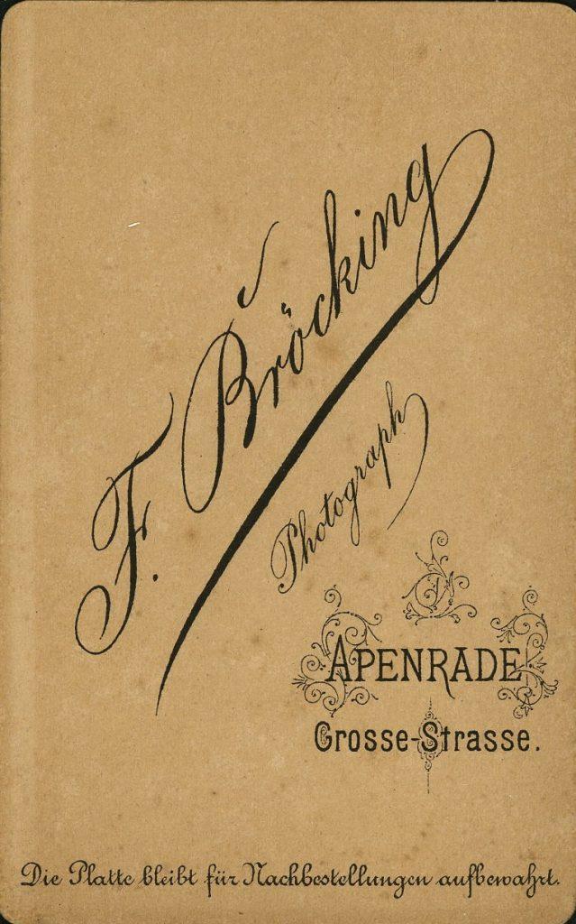 F. Bröcking - Apenrade