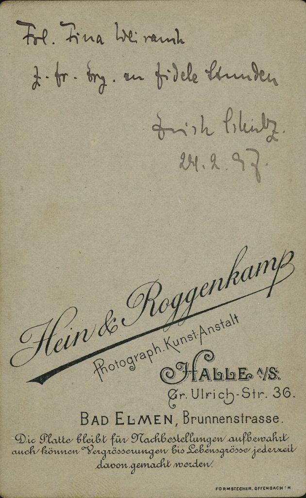 Hein - Roggenkamp - Halle - Bad Elmen