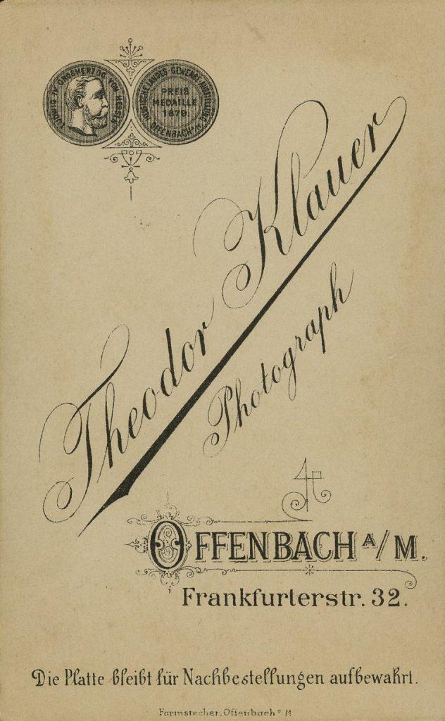 Theodor Klauer - Offenbach