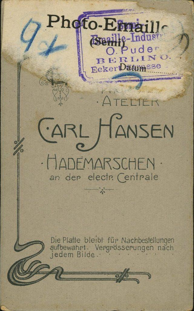 Carl Hansen - Hademarschen