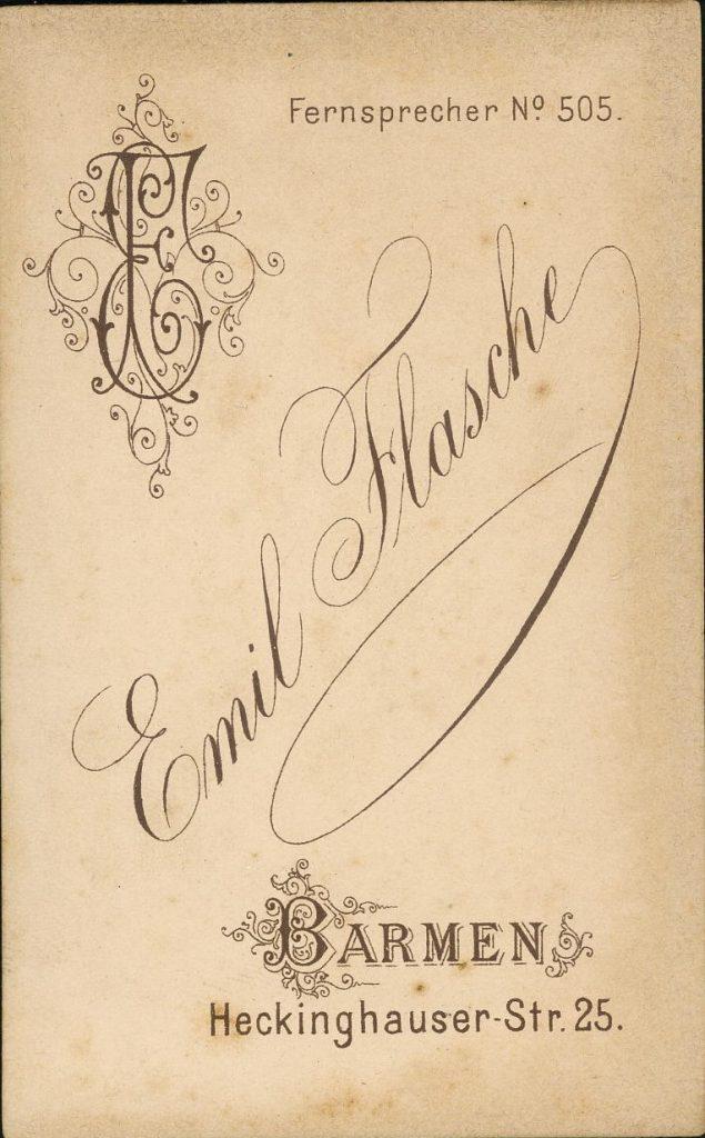 Emil Flasche - Barmen