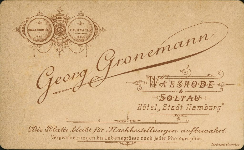 Georg Gronemann - Walsrode - Soltau