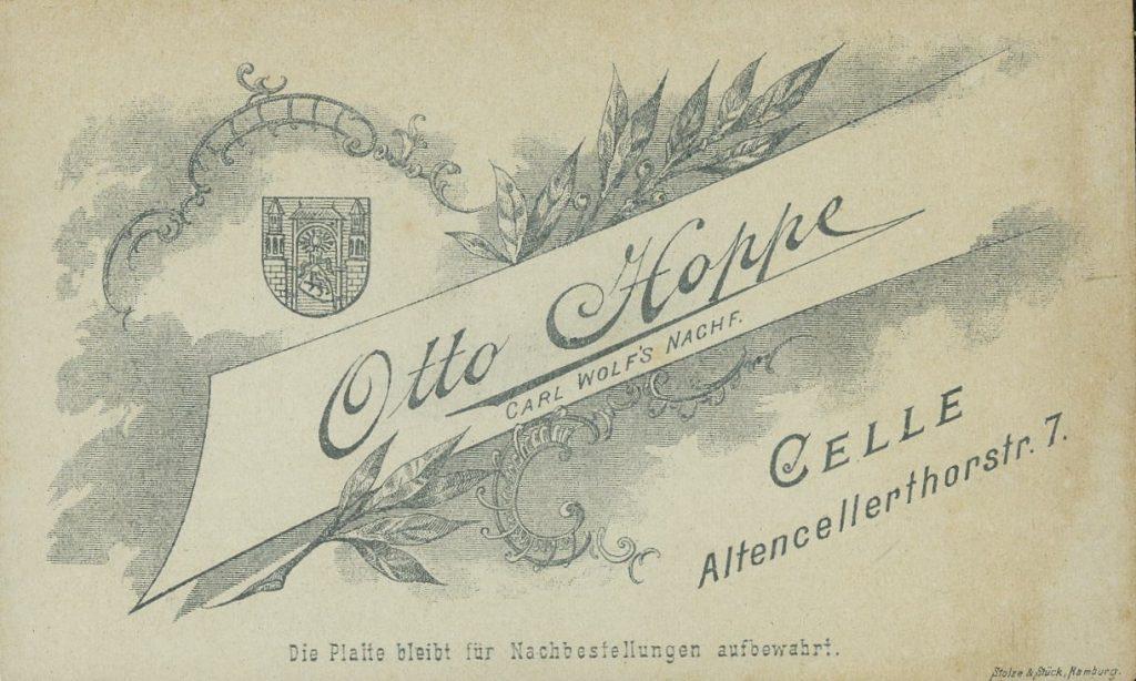 Otto Hoppe - Celle