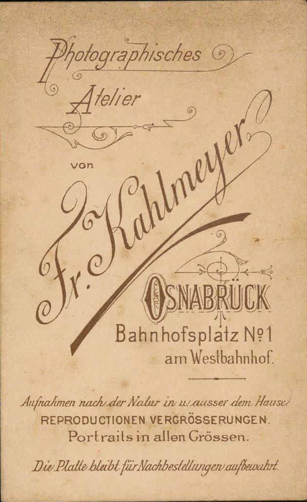 Fr. Kahlmeyer - Osnabrück