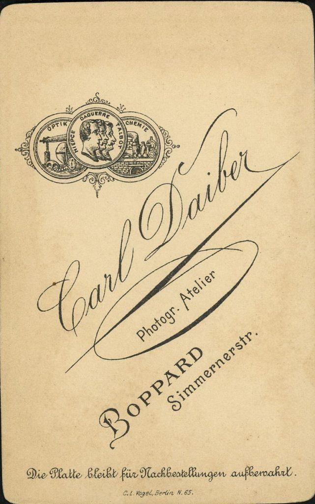 Carl Daiber - Boppard