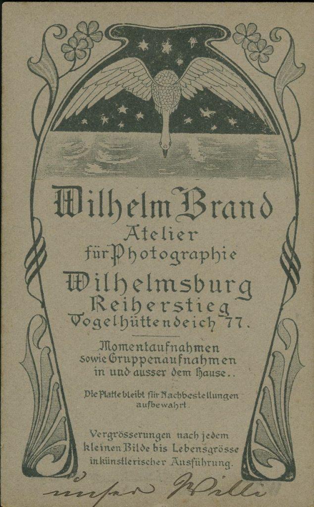 Wilhelm Brand - Wilhelmsburg