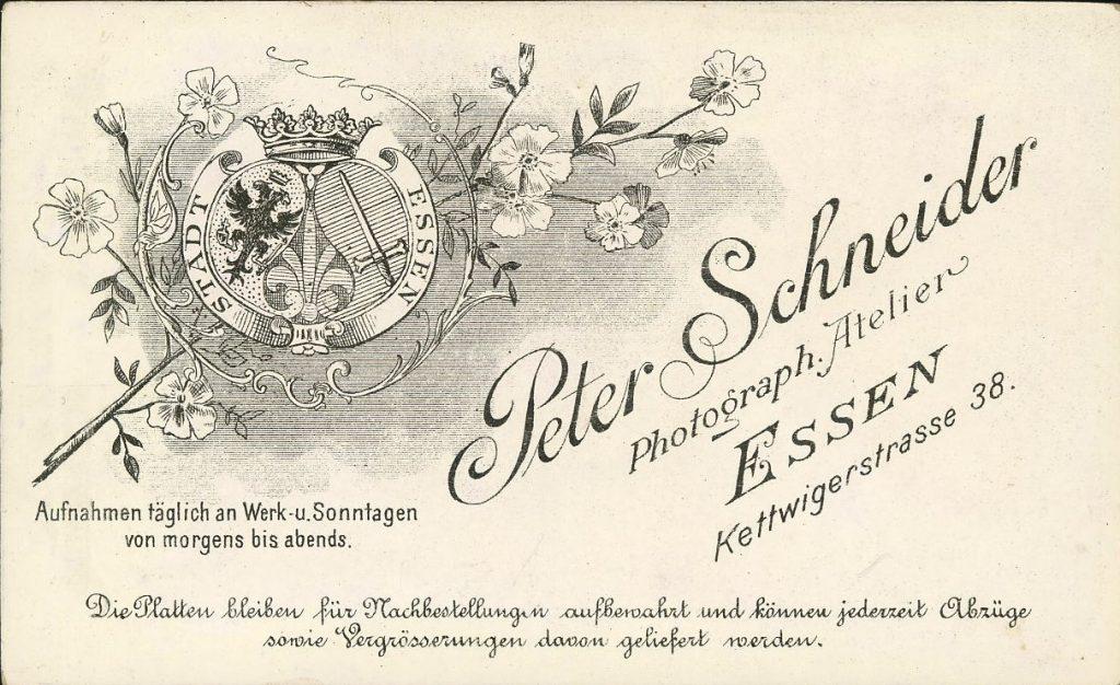 Peter Schneider - Essen